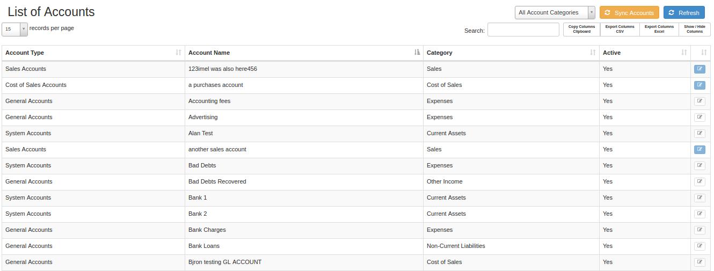 list-of-accounts