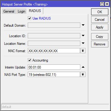radius tab