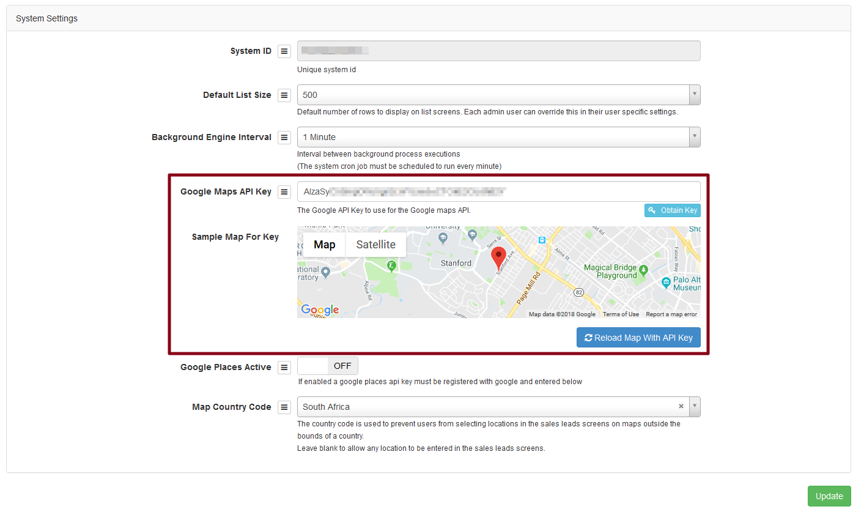 google maps key success