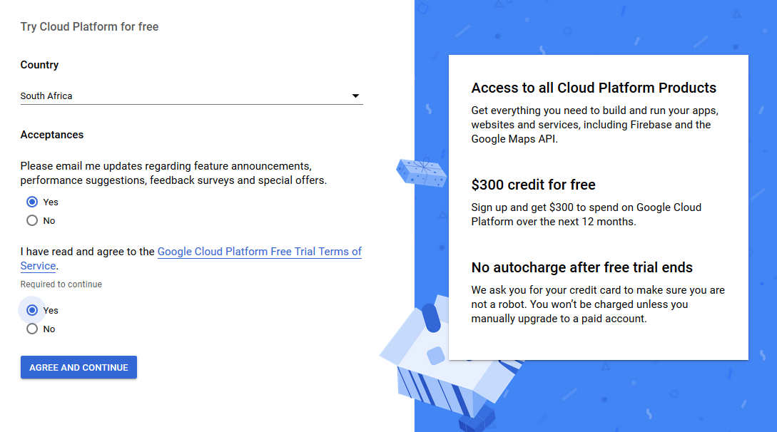 try cloud platform for free